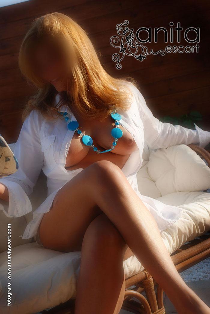 escort y Putas Murcia y Escort En murcia Murciascort espectacular ANITA  DIVORCIADA <BR><BR>  simpática y muy complaciente. . . en la cama soy pura perversión y erotismo, explosión en el sexo y una excelente implicación, tengo un cuerpo con unas medidas , para que sea tu mejor acompañante sexualmente <BR> piel suave, mi francés te dejara enloquecido. . . . doy unos besos ardientes y CON LENGUA. . . masajitos eróticos para que te relajes, mimos , caricias, y sexo a tope. . . . te estare esperando en la mas intima privacidad y discreción, besos. <BR><BR>